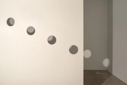 <p>Nancy Holt, <em>Holes of Light</em>, 1973/2018. Installation view, Dia:Chelsea, New York, 2018. &copy; Holt/Smithson Foundation and Dia Art Foundation/Licensed by VAGA at Artists Rights Society (ARS), New York. Photo: Bill Jacobson Studio, New York, courtesy Dia Art Foundation, New York.</p>