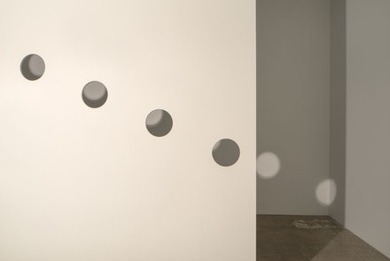 <p>Nancy Holt, <em>Holes of Light</em>, 1973/2018. Installation view, Dia:Chelsea, New York, 2018. © Holt/Smithson Foundation and Dia Art Foundation/Licensed by VAGA at Artists Rights Society (ARS), New York. Photo: Bill Jacobson Studio, New York, courtesy Dia Art Foundation, New York.</p>
