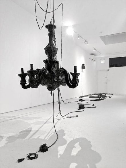 Installation view: <em>Jeanne Silverthorne</em>, Marc Straus, 2019. Courtesy Marc Straus Gallery.