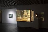 Installation view: <em>Raha Raissnia: Galvanization</em>, Miguel Abreu Gallery, New York, 2019. Courtesy the artist and Miguel Abreu Gallery, New York. Photo: Steven Faught.