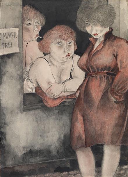 Jeanne Mammen,<em> Bruderstrasse</em>, 1930. Courtesy the Tate Modern.