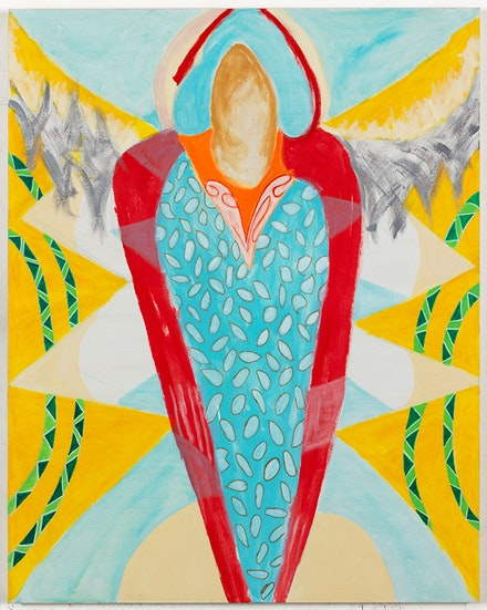 Margrit Lewczuk, <em>Angel</em>, 2017. Acrylic on linen, 60 x 48 inches. Photo: Brian Buckley. Courtesy the New York Studio School.