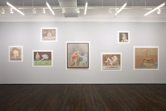 Installation view: <em>David Byrd</em>, White Columns, New York, 2019. Courtesy White Columns, New York. Photo: Marc Tatti.