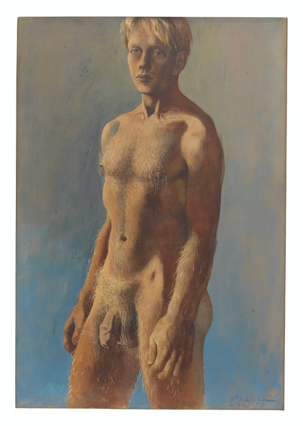 Pavel Tchelitchew, <em>The Lion Boy</em>, 1936–1937. Private Collection, New Jersey.