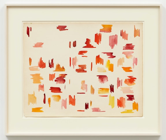 Robert Duran, <em>Untitled</em>, 1969. Watercolor on paper, 19 x 24 inches. Courtesy Karma, New York.