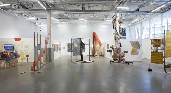 Installation view: <em>BRIC Biennial: Volume III: South Brooklyn Edition</em>. The Gallery at BRIC House, Brooklyn. Photo: Jason Wyche.