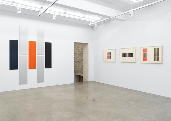 Installation view: <em>Don Dudley: Early Work</em>, Magenta Plains, New York, 2019. Courtesy Magenta Plains.
