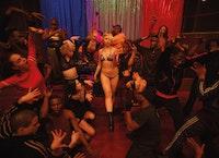 Dancers in Gaspar Noé's Climax. Photo: LAURENT LUFROY / FABIEN SARFATI. Courtesy A24. © COURAMIAUD – LAURENT LUFROY / FABIEN SARFATI