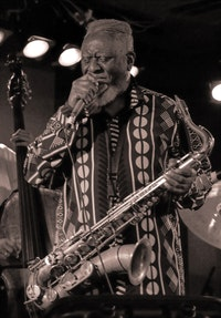 Pharoah Sanders, December 2006. Photo: Dmitry Scherbie, CC-SA 2.0