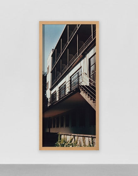 G&uuml;nther F&ouml;rg, <em>Monte Verit&agrave;</em>, 1990. C-print in artist frame, 106 1/4 x 47 1/4 inches. Courtesy Hauser + Wirth.