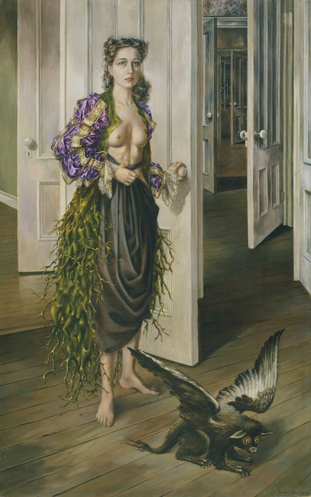 Dorothea Tanning, Birthday, 1942. Oil on canvas. Philadelphia Museum of Art. © DACS, 2019.