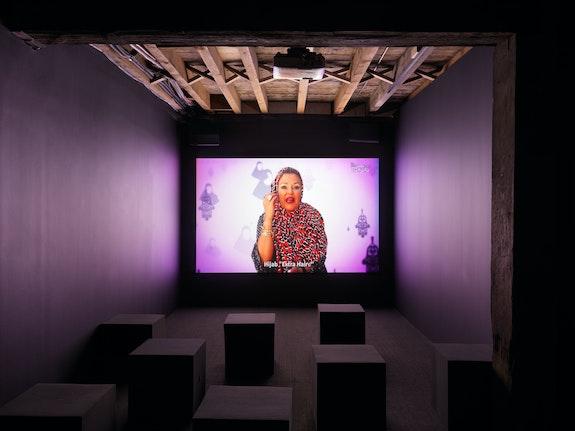 Installation view, <em>Refiguring Binaries</em>, Pioneer Works, New York, 2019. Photo: © Dan Bradica.