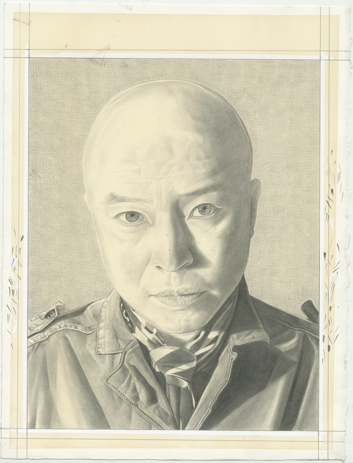 Portrait of Phong Bui. Pencil on Paper by Phong Bui.