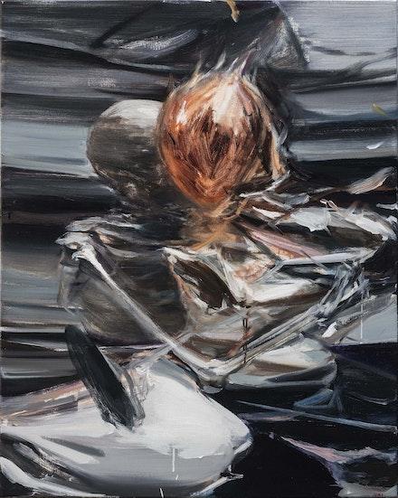 Jia Aili, <em>Untitled</em>, 2016, Oil on canvas, 39 3/8 x 31 1/2 in. &copy; Jia Aili Studio. Courtesy Gagosian.