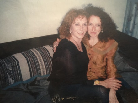 Carolee Schneemann with Kathy Brew, c. 1992. Courtesy Kathy Brew.