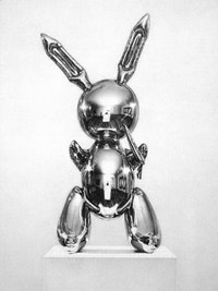 "Dan Fischer, ""Jeff Koons, Rabbit,"" 2005. Courtesy of Derek Eller Gallery."
