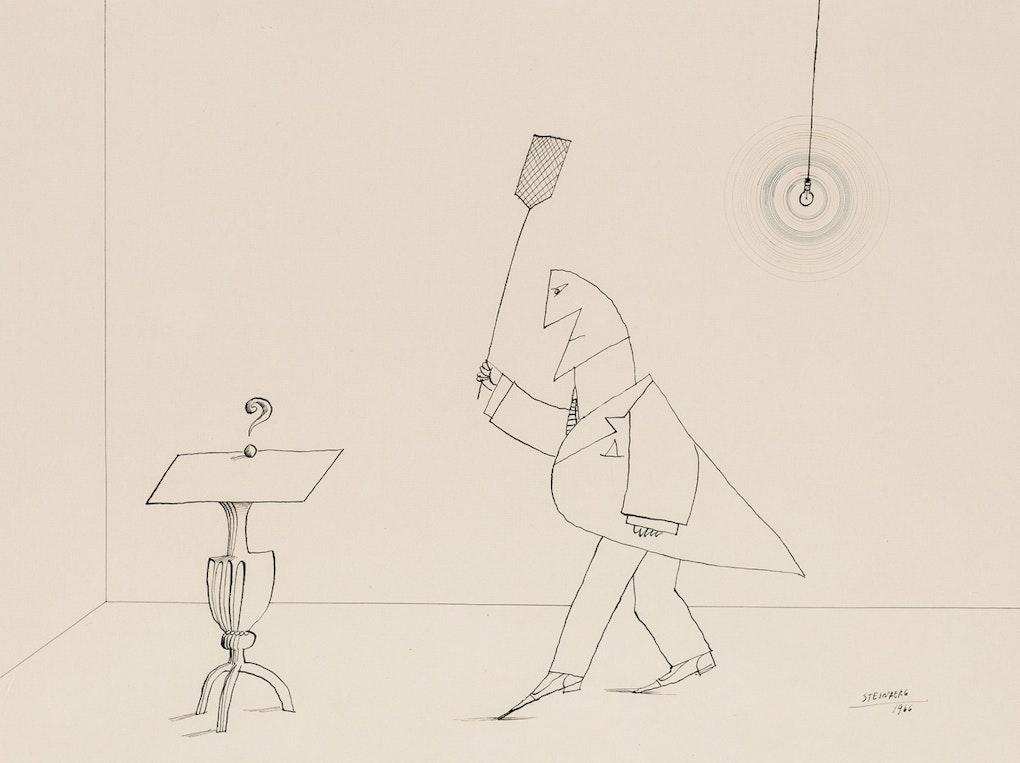 Saul Steinberg: Untitled – The Brooklyn Rail