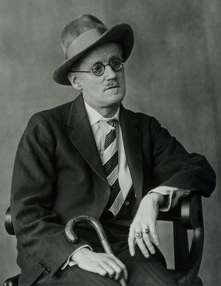 Berenice Abbott, <em>James Joyce</em>, from the series