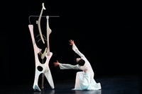 <i>PeiJu ChienPott in Martha Graham's Herodiade Credit: Melissa Sherwood</i>