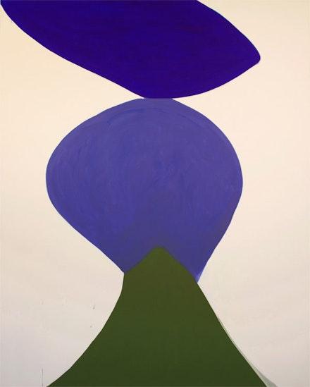 Marina Adams, <em>Mambo</em>, 2018. Acrylic on linen, 98 x 78 inches. Courtesy the artist and Salon 94 Bowery.