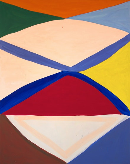 Marina Adams, <em>Cheops</em>, 2018. Acrylic on linen, 98 x 78 inches. Courtesy the artist and Salon 94, New York.