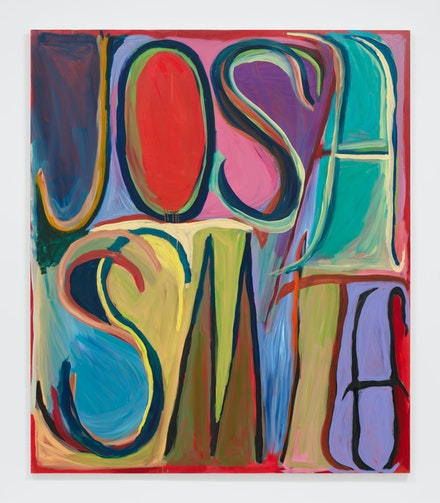 Josh Smith, <em>Name</em>, 2019. © Josh Smith. Courtesy the artist and David Zwirner.
