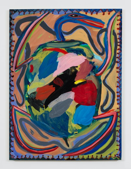 Josh Smith, <em>Turtle</em>, 2019. &copy; Josh Smith. Courtesy the artist and David Zwirner.