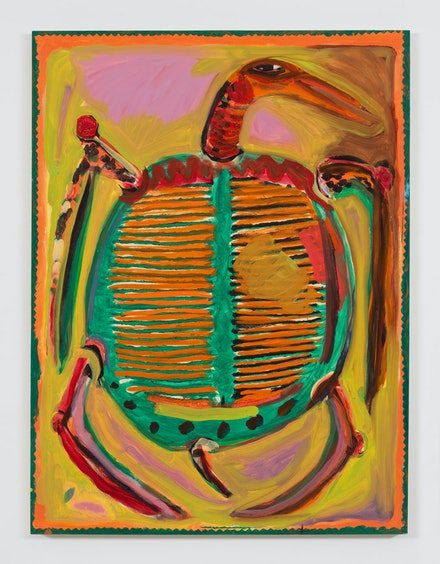 Josh Smith, <em>Turtle</em>, 2019. © Josh Smith. Courtesy the artist and David Zwirner.