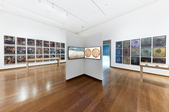 Installation view: <em>Frank Gillette: Excavations and Banquets </em>, Everson Museum of Art, 2019. Photo: Raul Valverde.