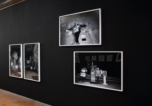 Installation view: <em>The Drowned World: Selections From the Dash Snow Archive</em>, Participant Inc, New York, 2019. © Dash Snow, Courtesy the Dash Snow Archive, NYC. Photo: Mark Waldhauser.