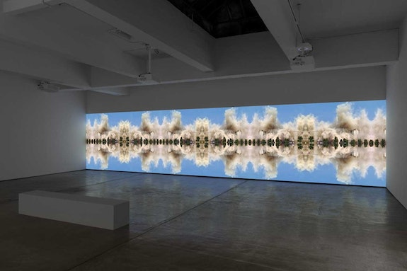 Walid Raad, <em>Sweet Talk: Commissions (Beirut) _ Solidere 1994-1997</em>, 2019. Panoramic digital video, resolution 5760 x 1080, ratio 16:3, looped. © Walid Raad. Courtesy Paula Cooper Gallery, New York.
