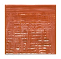 Moira Dryer, <em>Untitled</em>, 1988, Casein on Wood, 48 x 46 inches. Courtesy of Van Doren Waxter.