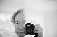 Self-Portrait in the Mirrored Door of the Medicine Chest. 2006.