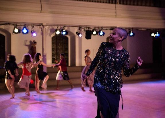 Jasmine Hearn, <em>you think you fancy</em>, 2019, Danspace Project. Photot: Ian Douglas. Courtesy Danspace Project.