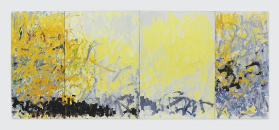 Joan Mitchell, <em>Minnesota</em>, 1980. © Estate of Joan Mitchell. Collection of the Joan Mitchell Foundation, New York. Courtesy David Zwirner.