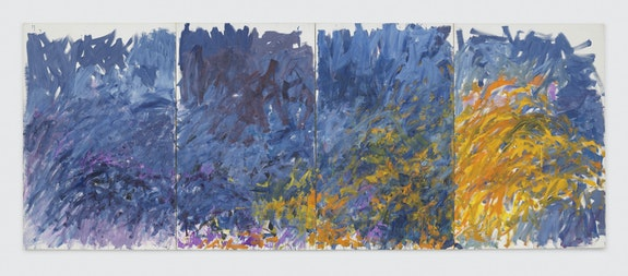 Joan Mitchell, <em>Edrita Fried</em>, 1981. © Estate of Joan Mitchell. Collection of the Joan Mitchell Foundation, New York. Courtesy David Zwirner