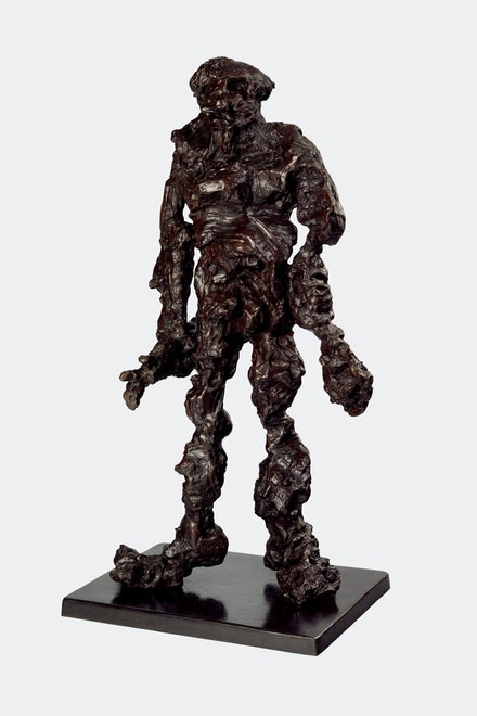 Willem de Kooning, <em>Clamdigger</em>, 1972, bronze. Courtesy Mnuchin Gallery.