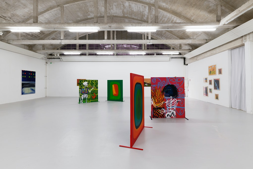 ebfe53bca5c74 Installation view: Marcus Jahmal: Gumbo, CAC Passerelle, Brest, 2019.  Courtesy the artist and CAC Passerelle.