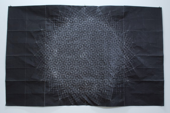 Yasi Alipour, <em>As Dreams Became History</em>, 2019. Hand fold, pigmented paper 41 x 64 inches. Edition of 1. Courtesy the artist.