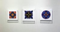 Installation view: <em>Jack Youngerman: Cut-Ups</em>, Washburn Gallery, New York, 2019. Courtesy Washburn Gallery.