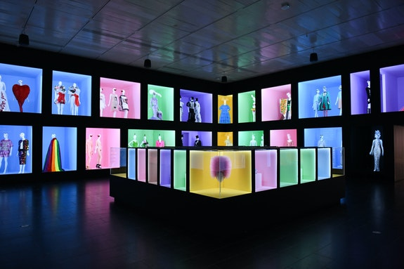 Installation view: Camp: Notes on Fashion, The Metropolitan Museum of Art, New York, 2019. Courtesy the Metropolitan Museum of Art, BFA.com/Zach Hilty.