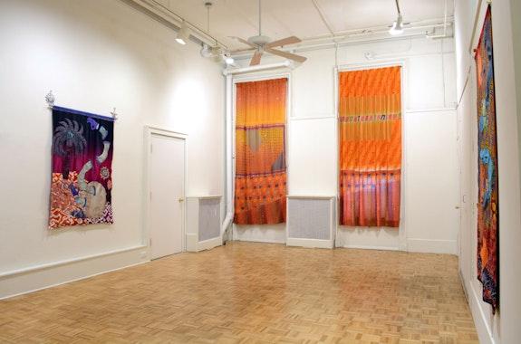 Installation view: Tim Zercie: <em>Regenbogenscherben,</em> Barney Savage Gallery, New York, 2019. Courtesy Barney Savage Gallery.
