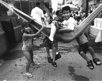 Block Party, South 4th Street. Photo by Vincent Clanni. To be shown as part of The Disappeared and the Endangered (Art101, 101 Grand St. 5/12-6/04)