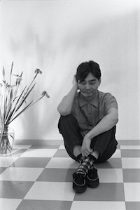 Haruomi Hasono. Photo courtesy the Masahi Kuwamoto Archives.