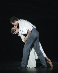 Misty Copeland and Cory Stearns in <em>Jane Eyre</em>. Credit: Gene Schiavone
