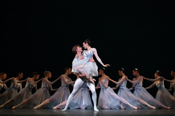 Luciana Paris and Aran Bell in <em>The Seasons</em>. Credit: Marty Sohl,