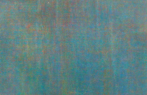 Howardena Pindell, <em>Untitled</em>, 1972, Acrylic on canvas, 174.3 x 267.3 cm. 68 5/8 x 105 ¼ inches. © Howardena Pindell. Courtesy the artist, Garth Greenan Gallery, New York and Victoria Miro, London/Venice</p>