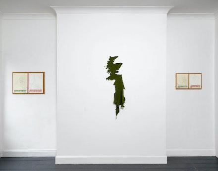 Installation view: <em>Should I Stay or Should I Go?</em>, Patrick Heide Contemporary, 2019. Courtesy Marcus Leith.
