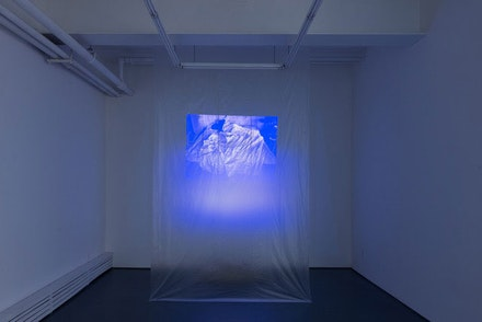 Installation view: <i>Ghost in the Ghost,</i> Tiger Strikes Asteroid, Brooklyn. Courtesy Tiger Strikes Asteroid.
