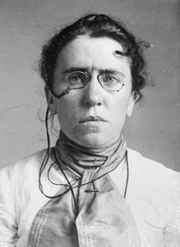 Emma Goldman, 1911. George Grantham Bain Collection, Library of Congress.